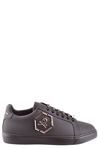 PHILIPP PLEIN Sneakers Uomo MSC0474PLE008N02K Pelle Nero