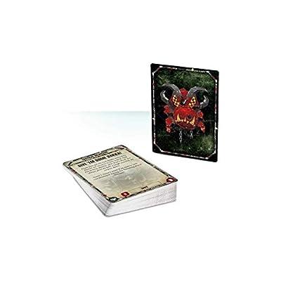 Games Workshop Warhammer 40K: Ork Datacards: Toys & Games