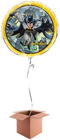 PARTYRAMA.CO.UK - Globo inflado de Batman en una Caja: Amazon.es: Juguetes y juegos