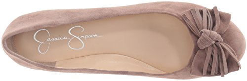 Jessica Simpson Womens Madian Ballet Flat Warm Taupe liOCu