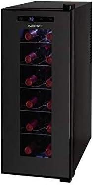 Jocel Enfriador de Botellas JAG003355, 12 botellas, 32L[Clase de eficiencia energética A+]