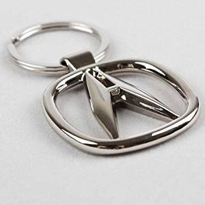 1pcs 3D Key Chain Ring Accessories Car Products Compatible Fit For USA Auto Model Acura