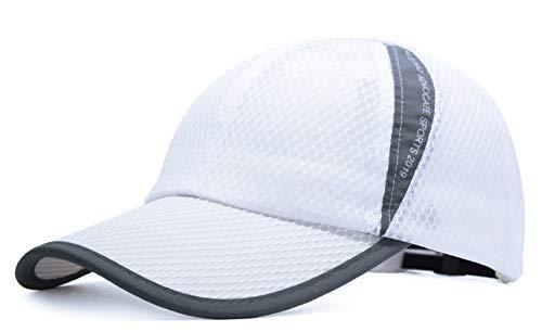 ELLEWIN Unisex Breathable Quick Dry Mesh Baseball Cap Beach -