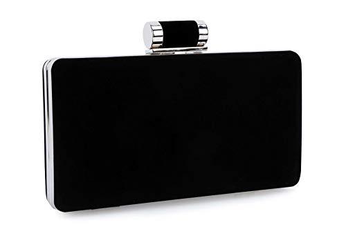 Selighting Women's Formal Evening Bags Velvet Wedding Clutch Purses (One Size, ()