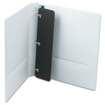 Cardinalamp;reg; Vinyl Clearvue Xtravalue D-Ring Presentation Binder, 1in Capacity, ()