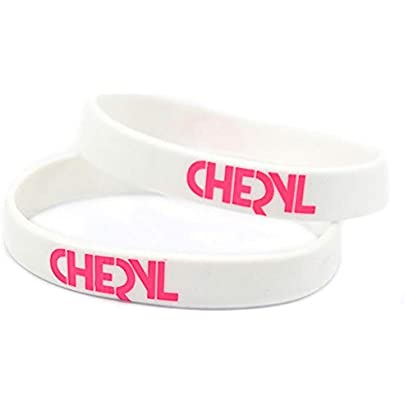 DuDuDu Silicone Bracelets with Logo Cheryl Cole Rubber Wristbands for Kids Motivation Set Piecesbirthday Gift Estimated Price £24.99 -