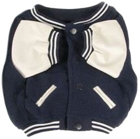 Sporty K9 New York Yankees Varsity Dog Jacket, (Yankees Leather Jacket)