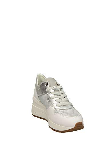 D828lc Sneakers Silver C5xbnqarwa 0ly22 Donna Geox ZiOkXPu