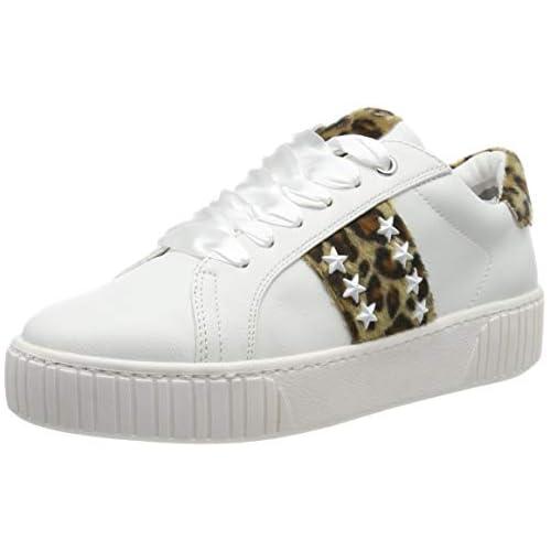 chollos oferta descuentos barato Marco Tozzi 2 2 23735 33 Zapatillas para Mujer Blanco White Leo 146 40 EU