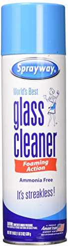 Sprayway Streakless Glass Cleaner 19 oz (3 Pack) Made in USA Brand New and Fast Shipping - Ammonia Cleaner Free Glass