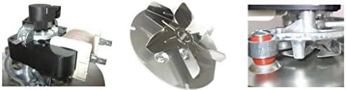 Extractor de humos, estufa, pellet, ventilador universal, 48 W ...
