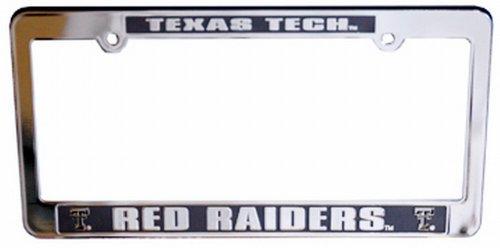 (NCAA Texas Tech Red Raiders Car Tag Frame)