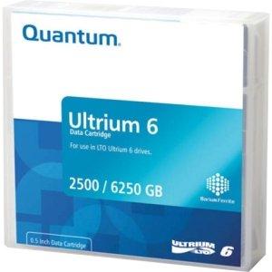 Quantum LTO-6 (MR-L6MQN-01) Ultrium-6 Data Tape Cartridge (2.5TB/6.25TB)