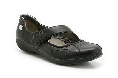 4ea92786 Clarks Indigo Bar Black Leather Sports Shoes - Womens Clarks Shoes
