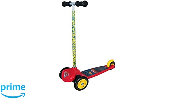Smoby - Cars Patinete, 750214, Rojo: Amazon.es: Juguetes y ...