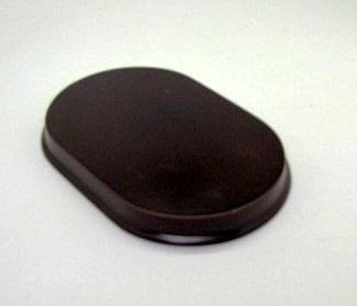 "Riser Oval Wood Display Stand 6"" X 4"" "" Base"