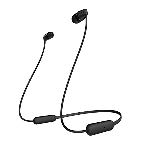 Sony Wi-C200 Wireless in-Ear Headphones, Black (WIC200/B)