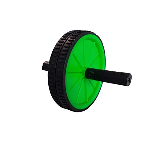 Electrobot AB Roller Balance Wheel Abdominal Wheel Exerciser for Abs  amp; Body Workout Fitness  Green