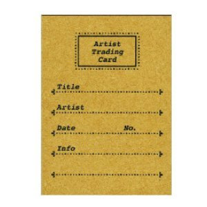 Artist Trading Card Stamp