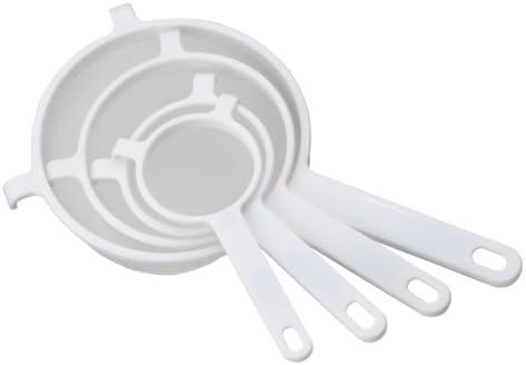 Blanc Passoire Chef Aid Healthy Steps 7 cm Nylon Mesh Crépine Tamis Chef Aid