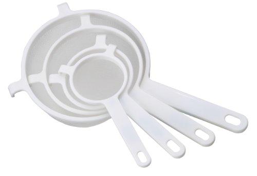 Nylonnetz HIC Weiß Nylonnetz Sieb 14cm Sieb Weiß HIC 8qxIfwYwt