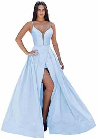 65cbfbe7339cc Women's Halter Pleats Chiffon A-Line Bridesmaid Dresses Sleeveless Long  Evening Formal Party Gowns. Contact. Seller: ZhixingKJ · / (2) Views