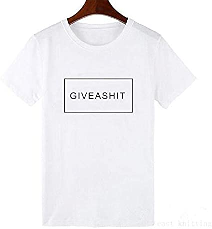 ADSIKOOJF Nueva Harajuku Impresión de Cartas Tops de Verano Camisetas Informales de Moda para Mujeres Amigos Programa de TV Camisa Camiseta de Regalo Camisetas Blancas Simples XXXL A: Amazon.es: Hogar