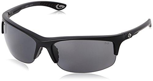Gargoyles Men's Flux 10700054 QTM Polarized Wrap Sunglasses,Matte Black,68 - Polarized Gargoyle Sunglasses