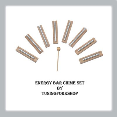 Sound Healing Energy Bar Chime 8 Harmonic Set Free shipping