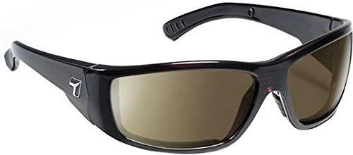 7eye Men's Maestro Resin Sunglasses,Mahogany Frame/Sharpview Grey Lens,one - Sunglasses Maestro