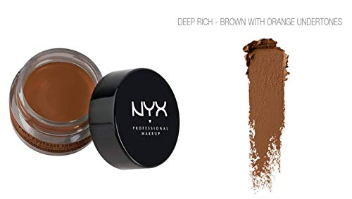 NYX Professional Makeup Concealer Jar, Deep Rich, 0.25 Ounce