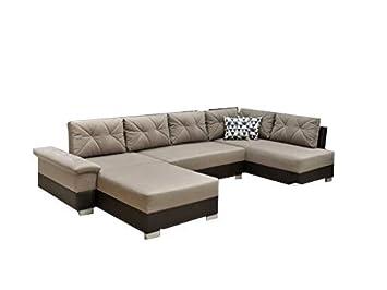 Mb Moebel Grosse Ecksofa Sofa Eckcouch Couch Mit Schlaffunktion Und