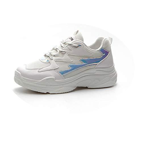 Y Zapatillas De Malla Hueso Informales Carretera Deportes Para Mujeres Gimnasio Correr Deporte Practicar qgWn8Zqfx