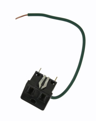 Leviton 1374-500 Snap-In Receptacle, 2 Pole-3 Wire, 15A-125V, Mounting Clip Pole Mounting Clips