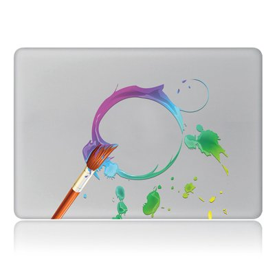 365Cor - 2Pcs Lot Laptop Partial Stickers for Xiaomi Lenovo Asus HP for MacBook Air Pro Retina MAC [ C 13 ]