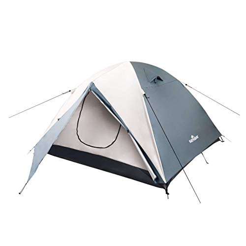 Sundoor Camping Tent, 2-4 Person Family, Waterproof UV Resistant Easy Setup Outdoor, with Pouch