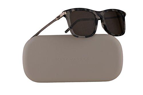 Marc Jacobs MJ139/S Sunglasses Grey Havana w/Brown Lens 53mm PWE8E MJ139S MJ - Sunglasses Marc Warranty Jacobs