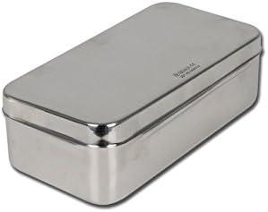 GIMA S.p.A 5868 Caja de acero inoxidable, 20 cm x 10 cm x 6 cm: Amazon.es: Industria, empresas y ciencia