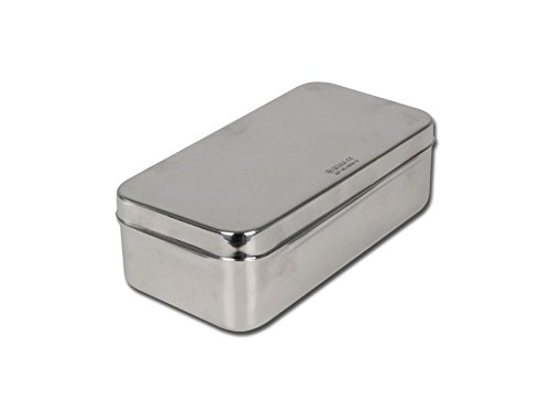 GIMA S.p.A 5868 Stainless Steel Box, 20 cm x 10 cm x 6 cm 26654
