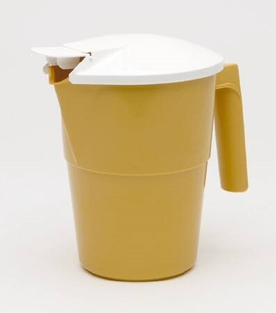 Pitcher W/Cover 1Qt Gold - Item Number H200-05 - 1 Each / Each -
