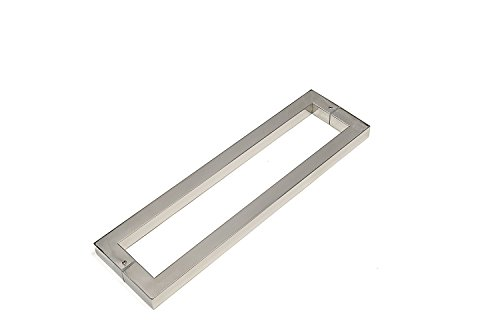 Modern & Contemporary Square/Rectangle Shape 1219mm / 48 inches Push-Pull Stainless-Steel Door Handle for Interior/Exterior - Satin Brushed Finish / Chrome Mirror-Polished Finish