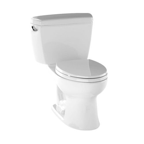 Toto CST744SLD#01 Drake 2-Piece Ada Toilet with Elongated...