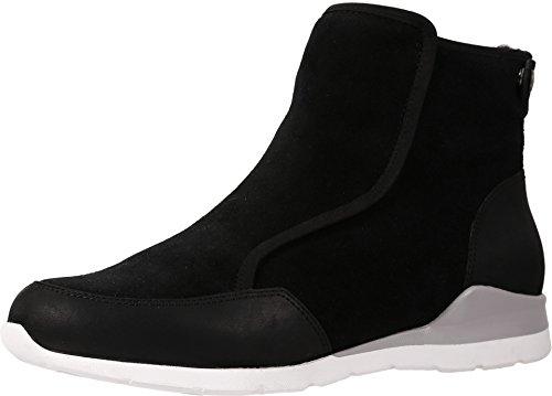 UGG Women's Laurelle Boot, Black, 8 (Ugg Boots Back Zipper)