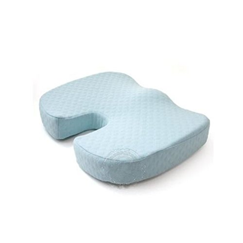(Thicken High Density Health Office Chair Memory Foam Comfort Coccyx Orthopedic Seat)