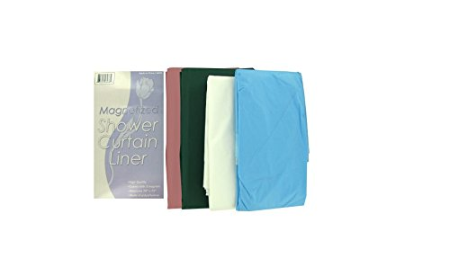 96 Packs of Magnetized shower curtain liner