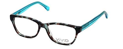Calabria Viv 864 Designer Reading Glasses in Aqua-Marble - Aqua Glasses Reading