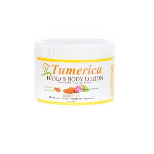 15 Ounce Lotion (Tumerica Hand and Body Lotion Moisturizing, Unscented, 15 Ounce)