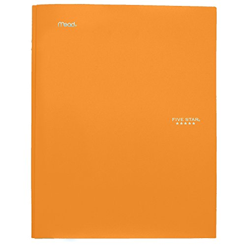 """043100340300 - Five Star Pocket Folder, 2 Pocket Stay-Put Plastic Folder, 11-5/8"""" x 9-5/16"""", Color Selected For You May Vary (34030) carousel main 11"""