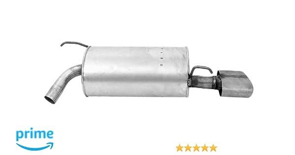 Walker 53645 Quiet-Flow Stainless Steel Muffler Assembly