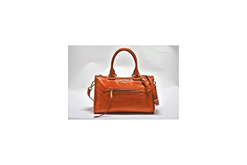 Miu-Miu-Shiny-Calfskin-Leather-Handbag-Papaya